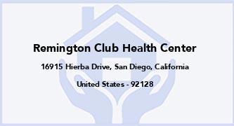 Remington Club Health Center