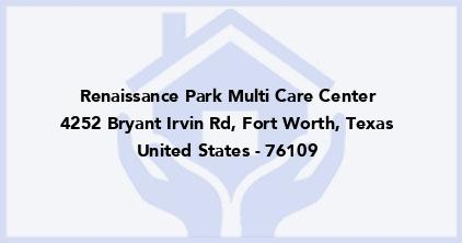 Renaissance Park Multi Care Center