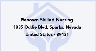 Renown Skilled Nursing