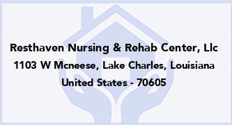 Resthaven Nursing & Rehab Center, Llc