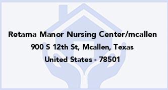 Retama Manor Nursing Center/Mcallen