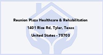Reunion Plaza Healthcare & Rehabilitation
