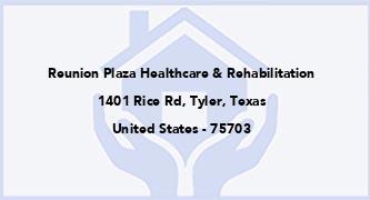 Reunion Plaza Healthcare & Rehabilitation
