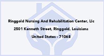 Ringgold Nursing And Rehabilitation Center, Llc