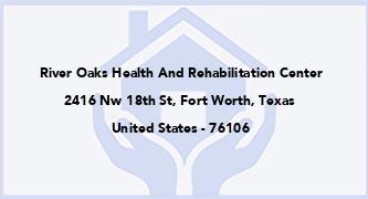 River Oaks Health And Rehabilitation Center