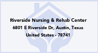 Riverside Nursing & Rehab Center