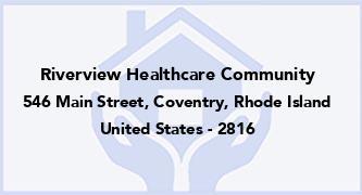 Riverview Healthcare Community