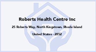 Roberts Health Centre Inc