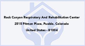 Rock Canyon Respiratory And Rehabilitation Center