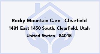 Rocky Mountain Care - Clearfield