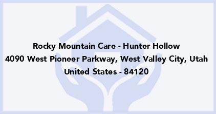 Rocky Mountain Care - Hunter Hollow