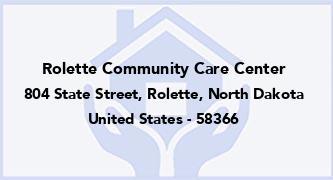 Rolette Community Care Center