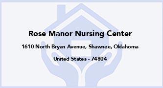 Rose Manor Nursing Center