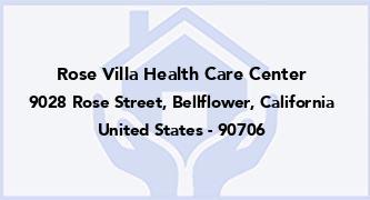 Rose Villa Health Care Center