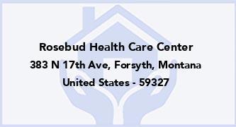 Rosebud Health Care Center