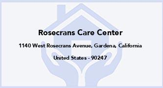 Rosecrans Care Center