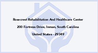 Rosecrest Rehabilitation And Healthcare Center