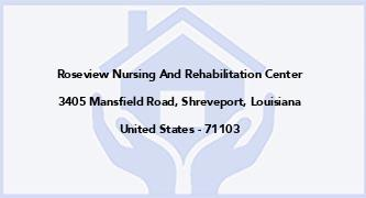 Roseview Nursing And Rehabilitation Center