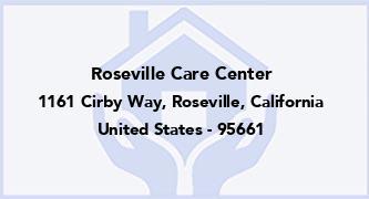 Roseville Care Center