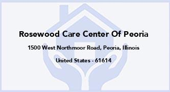 Rosewood Care Center Of Peoria