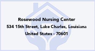 Rosewood Nursing Center