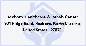Roxboro Healthcare & Rehab Center