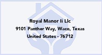 Royal Manor Ii Llc