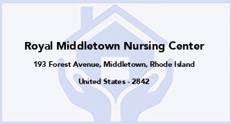 Royal Middletown Nursing Center