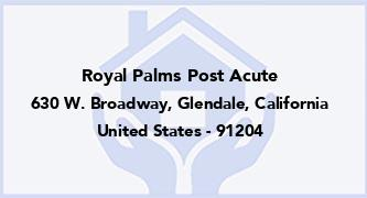 Royal Palms Post Acute