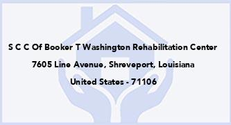 S C C Of Booker T Washington Rehabilitation Center