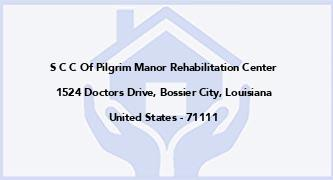 S C C Of Pilgrim Manor Rehabilitation Center