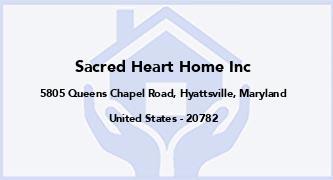 Sacred Heart Home Inc