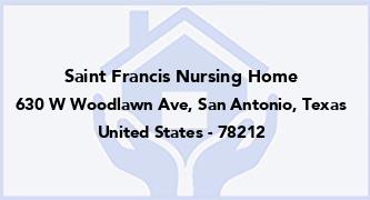 Saint Francis Nursing Home