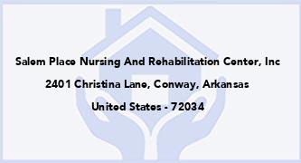 Salem Place Nursing And Rehabilitation Center, Inc