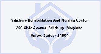 Salisbury Rehabilitation And Nursing Center
