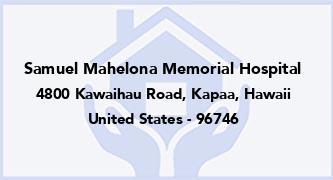 Samuel Mahelona Memorial Hospital