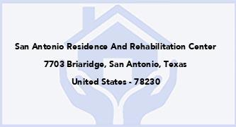 San Antonio Residence And Rehabilitation Center