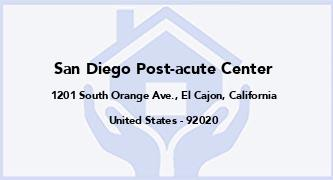 San Diego Post-Acute Center
