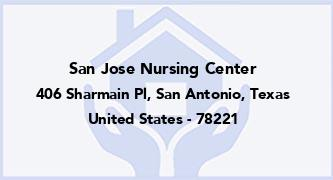 San Jose Nursing Center