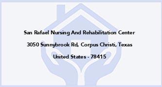 San Rafael Nursing And Rehabilitation Center