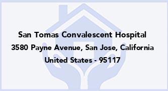 San Tomas Convalescent Hospital