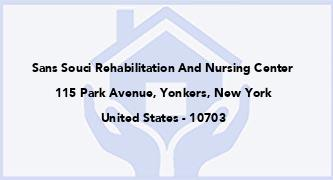 Sans Souci Rehabilitation And Nursing Center