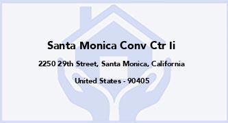 Santa Monica Conv Ctr Ii