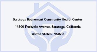 Saratoga Retirement Community Health Center
