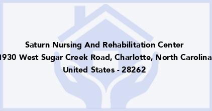 Saturn Nursing And Rehabilitation Center