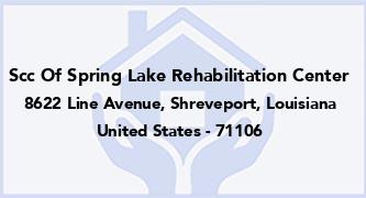 Scc Of Spring Lake Rehabilitation Center
