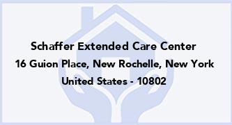 Schaffer Extended Care Center