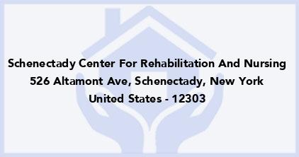 Schenectady Center For Rehabilitation And Nursing