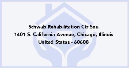 Schwab Rehabilitation Ctr Snu