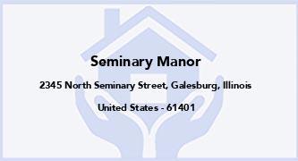 Seminary Manor